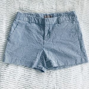 Banana Republic Pinstripe Shorts